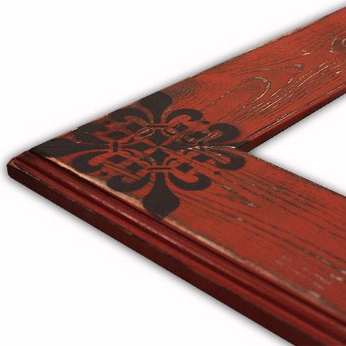 Solid Wood Allison Paprika Picture Frame