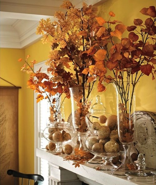 Faux Aspen Branch traditional accessories and decor