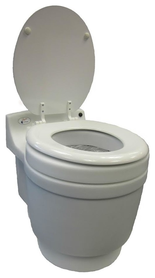 What Is Included With The Laveo Dry Flush Toilet