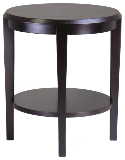 Winsome Wood 92617 Nadia End Table  Dark Espresso contemporary side tables  and. Winsome Wood 92617 Nadia End Table  Dark Espresso   Contemporary