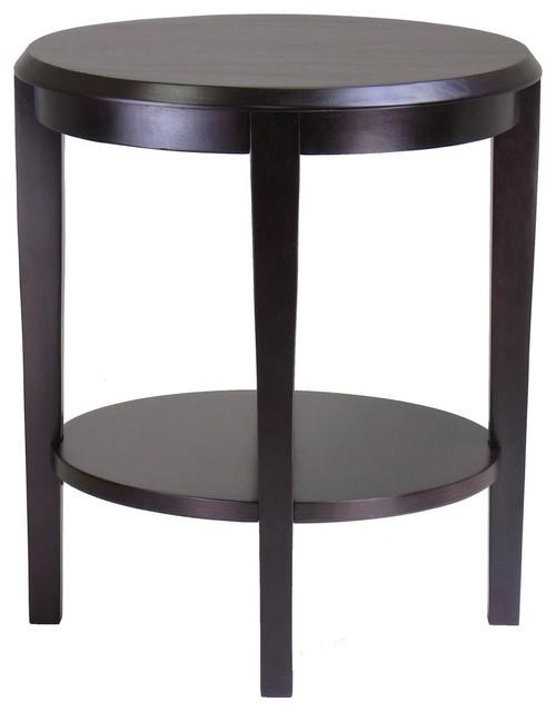 Winsome Wood 92617 Nadia End Table Dark Espresso