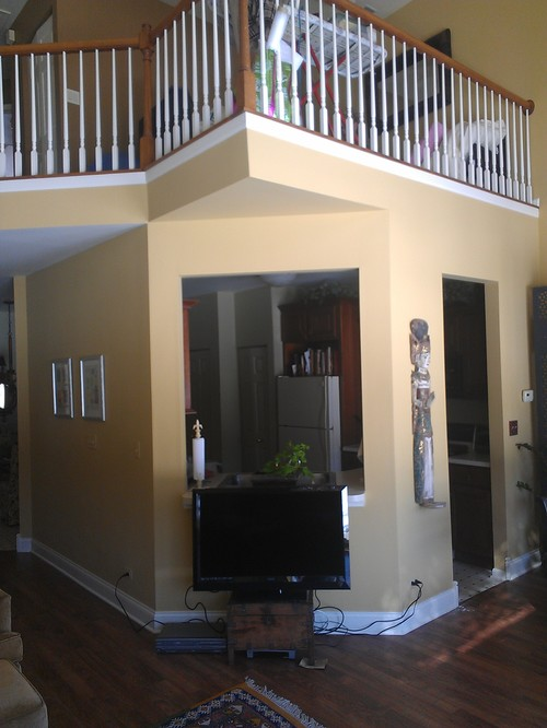 Changing Paint Colors On Angled Walls And Outside Corners