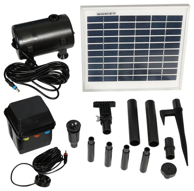 Sunnydaze Decor Sunnydaze Solar Pump And Solar Panel Kit