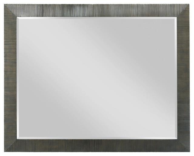 American Drew Evoke Landscape Mirror, Barley 509-030. -1