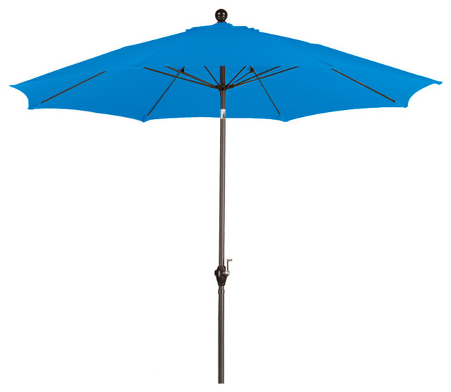 Fiberglass Umbrella, Pacific Blue.