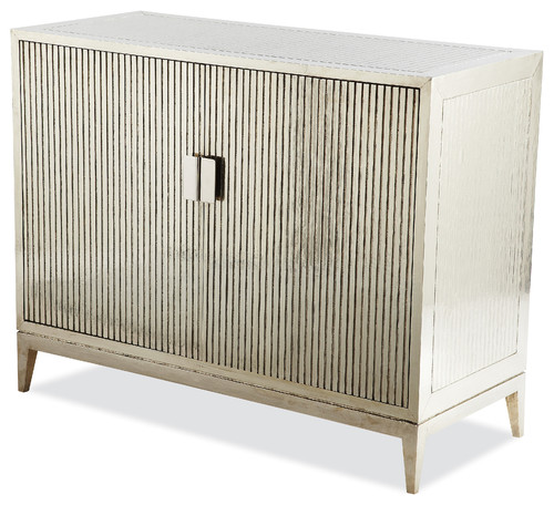 Treviso Ribbed German Silver Chest