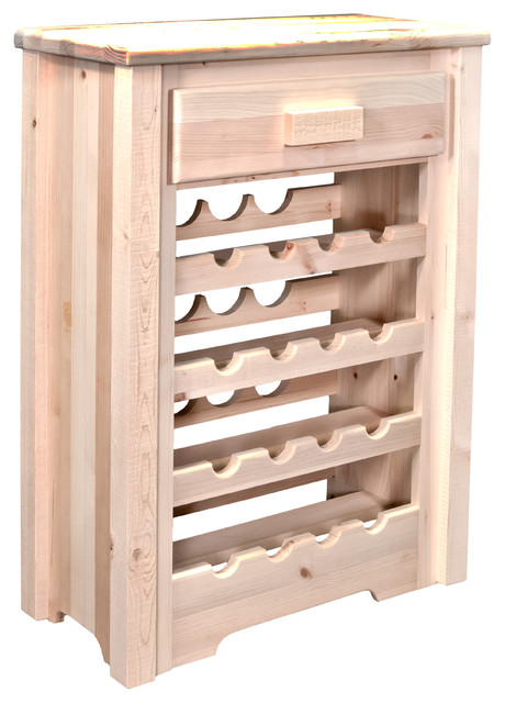 Homestead Collection Wine Cabinet - Wine And Bar Cabinets - by Montana ...