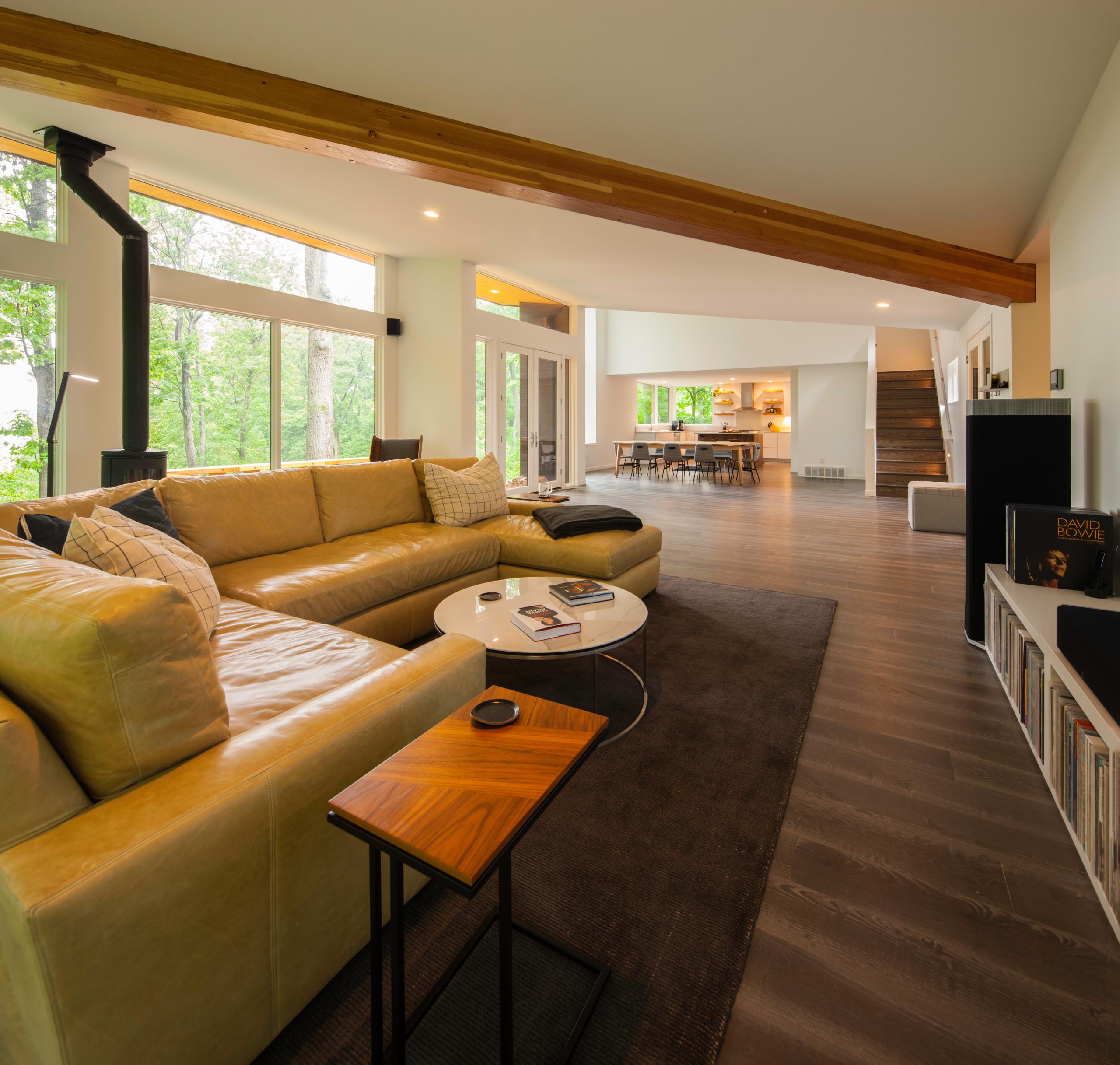 Modern Wooded Getaway Home