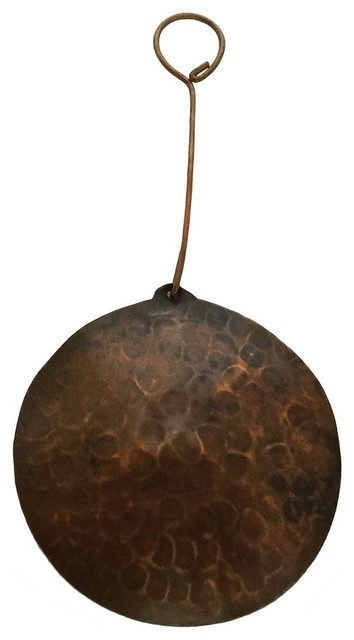 Copper Christmas Ornaments.Hand Hammered Copper Reindeer Christmas Ornament Quantity Of 6
