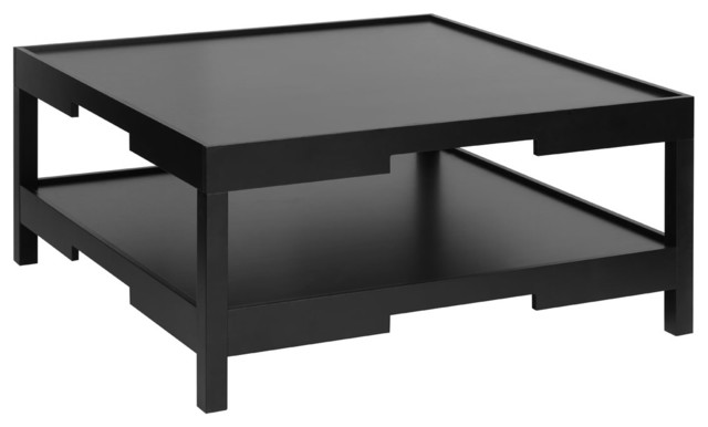 Osaka Coffee Table With Shelf Transitional Coffee Tables By - Osaka coffee table