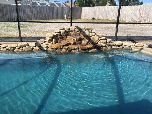 Pebble pool finish tahoe blue pictures florida stucco vs for Florida stucco
