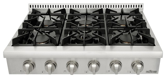 Thor 36 Professional Stainless Steel Gas Range Top