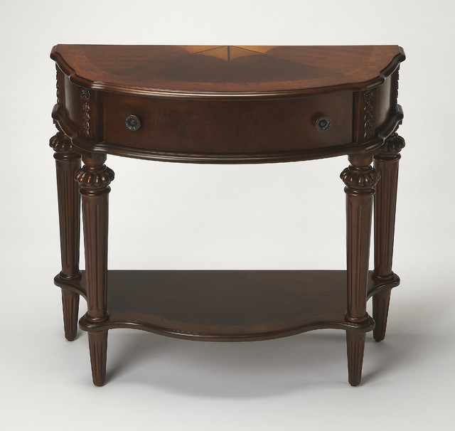 Halifax Plantation Cherry Console Table Traditional