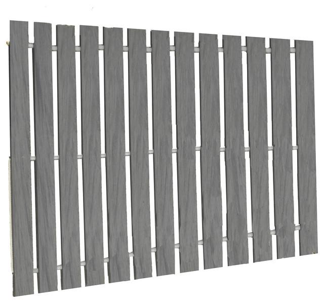 Rollout Boardwalk Walkway in PVC Deck Board, Dusk Gray, 3x6