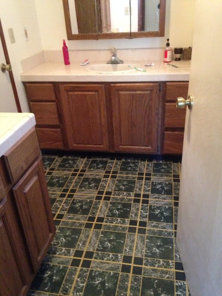 BEFORE Flooring -Original