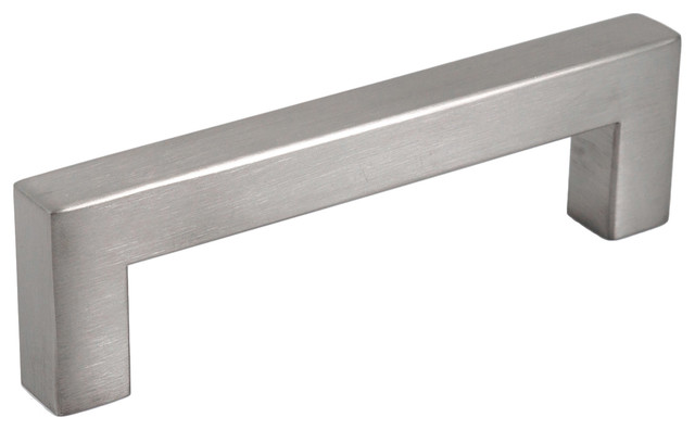 Celeste Designs - Celeste Square Bar Pull Cabinet Handle Brushed Nickel Stainless 12mm & Reviews ...