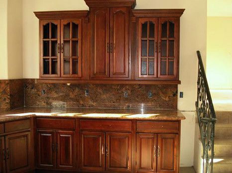 Cherry Walnut Kitchen Cabinets Home Design American Traditional Columbus By Lily Ann Cabinets