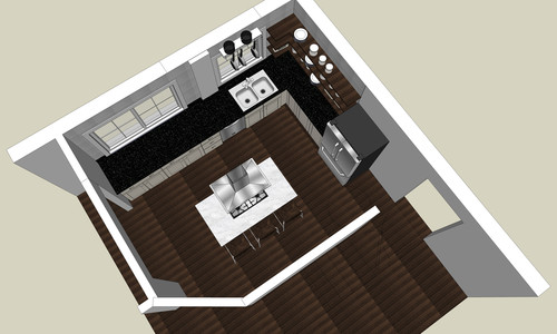 & Need input on what size recessed lights and light layout for kitchen. azcodes.com