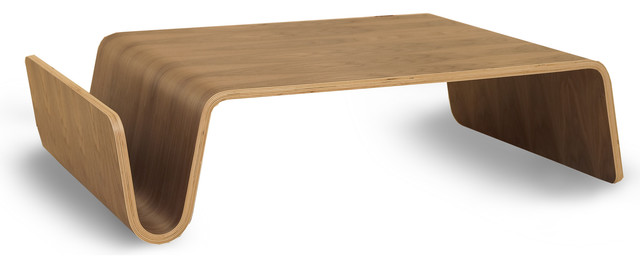 Low Bent Wood Coffee Table Modern Scando Table Contemporary - Scando coffee table