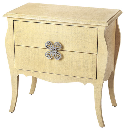 Felicia Natural Raffia Accent Chest