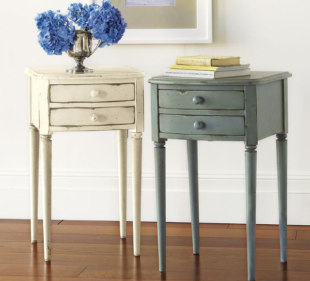 Charlotte Bedside Table Traditional Nightstands And