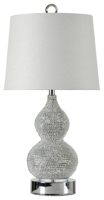 Stylecraft l34033ds bling table lamp transitional table lamps stylecraft l34033ds bling table lamp mozeypictures Image collections