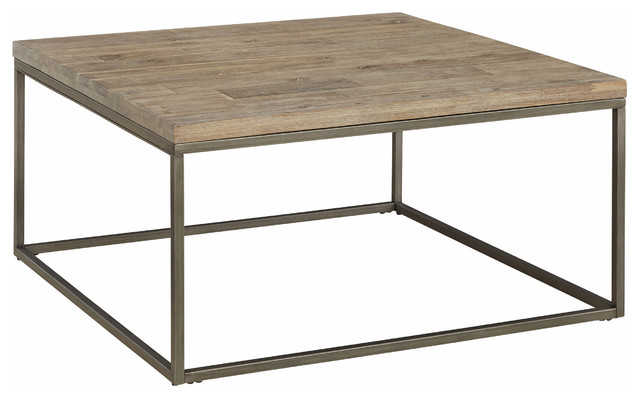 alana coffee table, square - transitional - coffee tables -