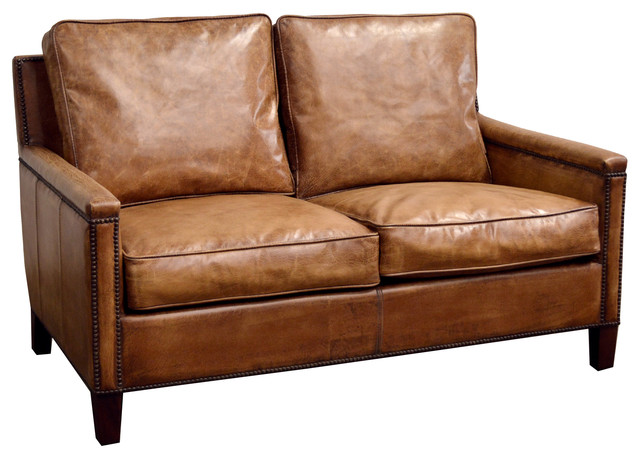 Miraculous Buffalo Leather 2 Seater Sofa Inzonedesignstudio Interior Chair Design Inzonedesignstudiocom