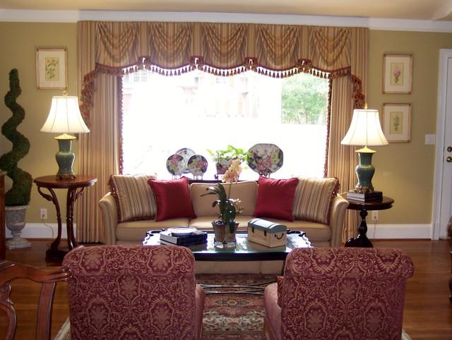 Genial Klassisches Wohnzimmer In Atlanta