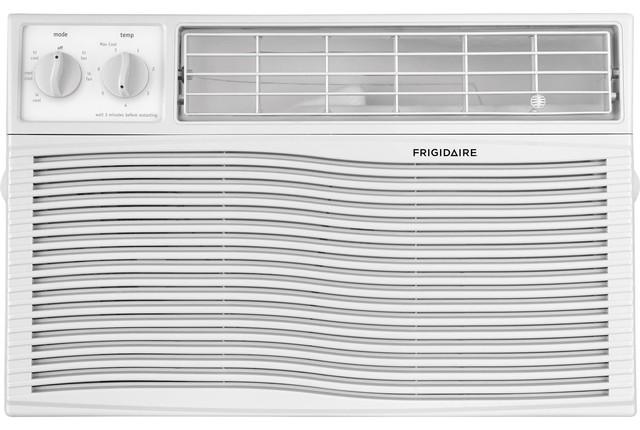 Window Air Conditioner, Mechanical Controls, 6000 Btu.
