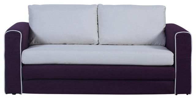 Modern Clic 2 Tone Sofa Sleeper