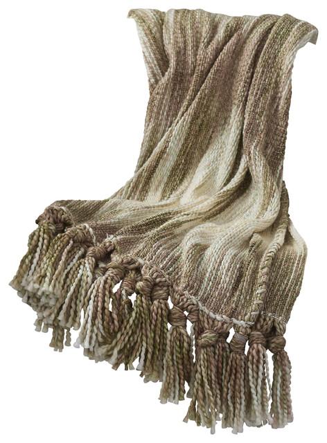 Lavish Luxe Soft Gold Throw Blanket