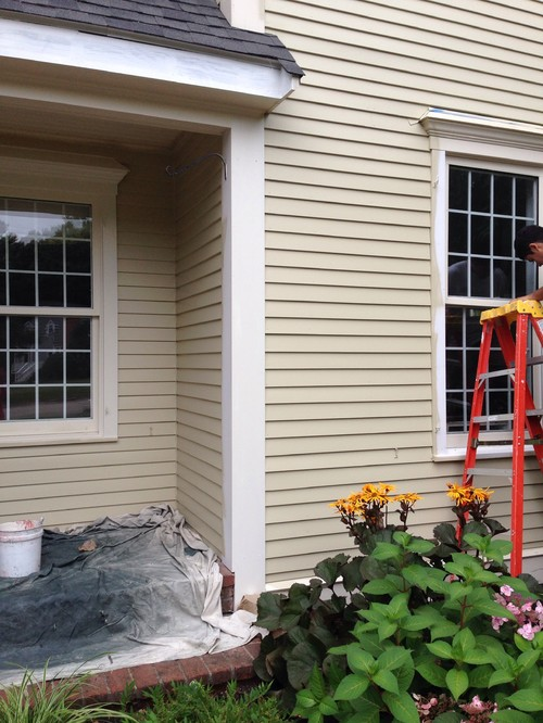 Trim color for exterior with crown point sand ( hc-90)