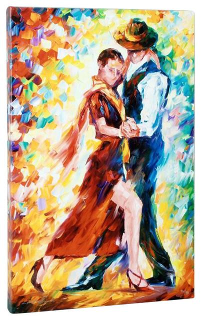 """""""Romantic Tango"""" Art, Afremov, Leonid"""
