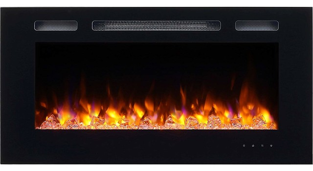 Super Puraflame Alice 40 Recessed Electric Fireplace Wall Mounted Log Wiring 101 Vihapipaaccommodationcom