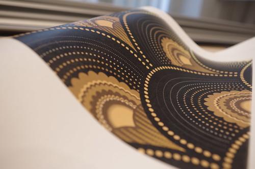 Papier Peint Intisse Grande Largeur.Focus Matiere Le Papier Peint Intisse Revolutionne Les Murs