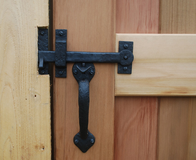 Double Sided Gate Double Thumb Latch