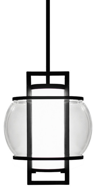 Modern Forms Lucid Led Indoor And Outdoor Pendant Black