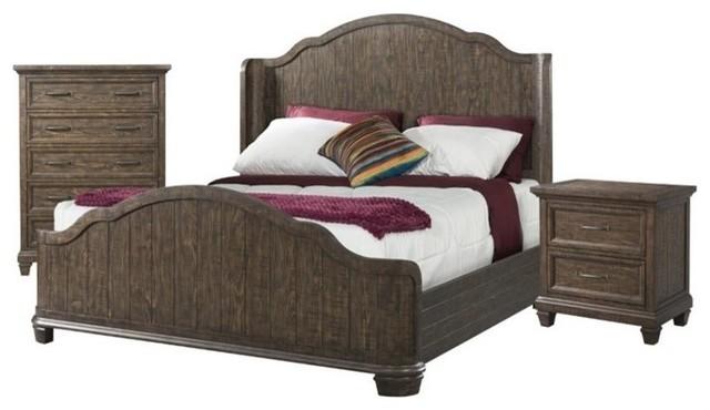 Elements Missandrei 3-Piece Queen Bedroom Set - Traditional ...