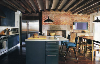 Apartment Therapy New York | West Village Townhouse Kitchen by Made