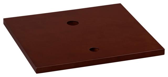 """Ronbow Essentials Cami 19"""" Bathroom Wood Vanity Counter Top, Dark Cherry."""