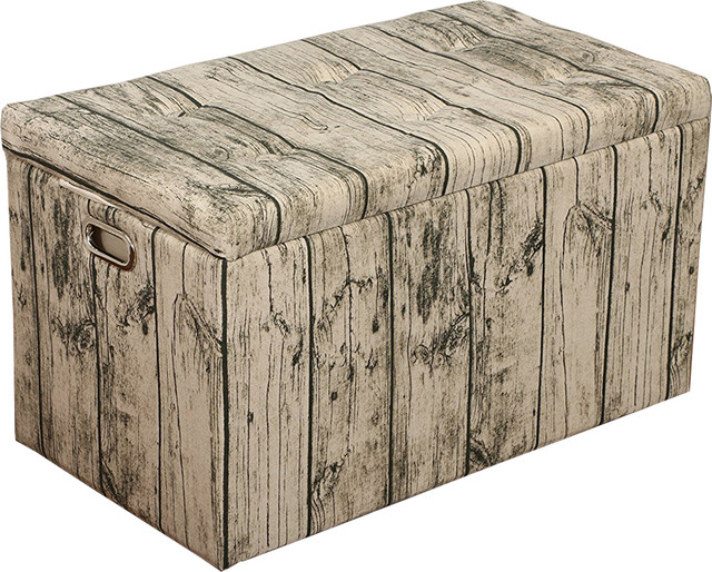 Cloth Storage Ottoman With Stool 3 Ottomans and 2 Stools Barn Door Wood rustic-  sc 1 st  Houzz & Cloth Storage Ottoman With Stool 3 Ottomans and 2 Stools Barn ... islam-shia.org