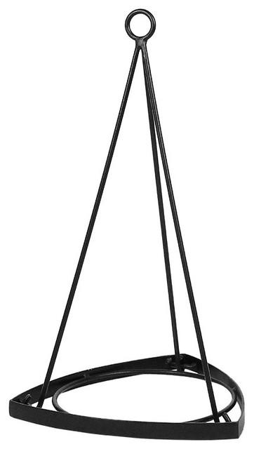 Achla Designs Plate Wall Hanger Plant Hanger Bronze
