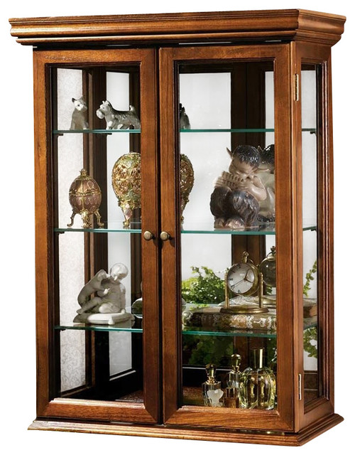 Shop Houzz | Tuscan Wall Curio Cabinet - China Cabinets And Hutches