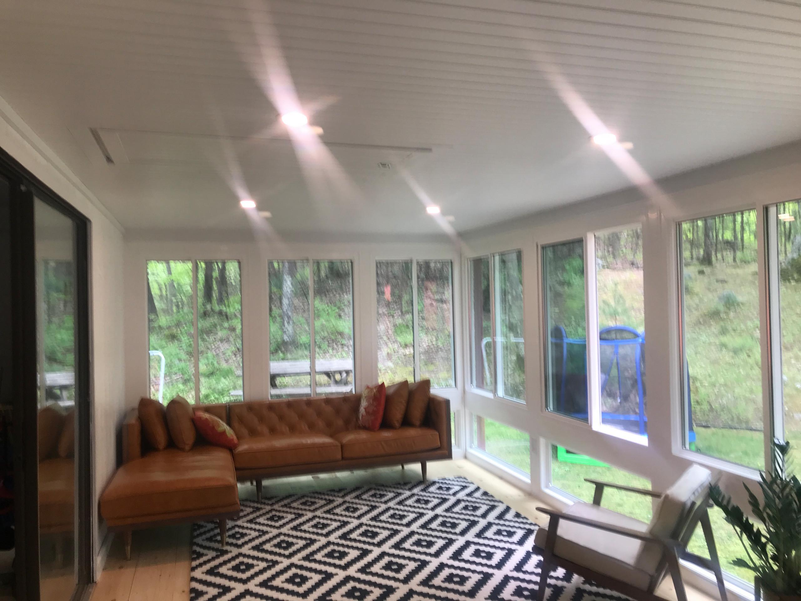 Porch To Sunroom Conversion