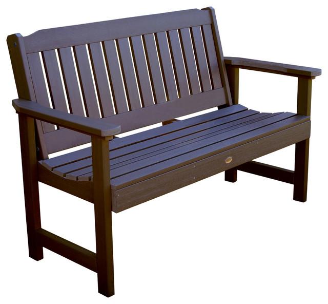 Lehigh Garden Bench Contemporary Outdoor Benches by