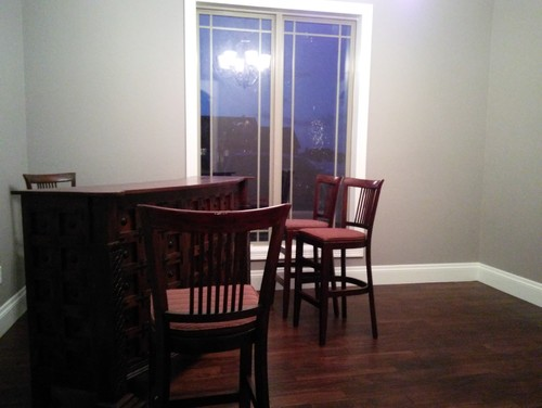 In My New House I Like To Turn The Formal Dining Room Into A Bar