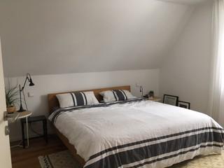 farb und gestaltungsideen f r schlafzimmer mit dachschr ge. Black Bedroom Furniture Sets. Home Design Ideas