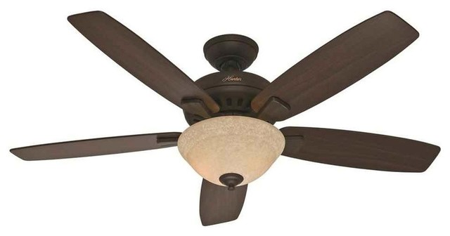 Hunter Large Room Ceiling Fan With Light And Remote X-67135.