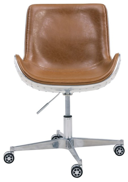 Scoop Style Java Brown Office Chair Contemporary Office Chairs By Office Furniture More